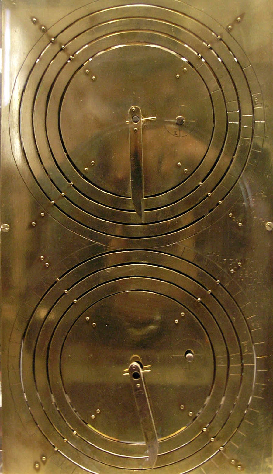 Reconstruction of the Antikythera mechanism