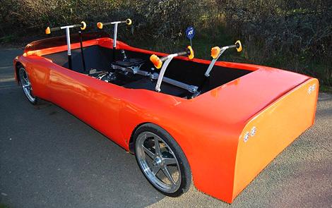 Cardboard Sports Car Ghetto