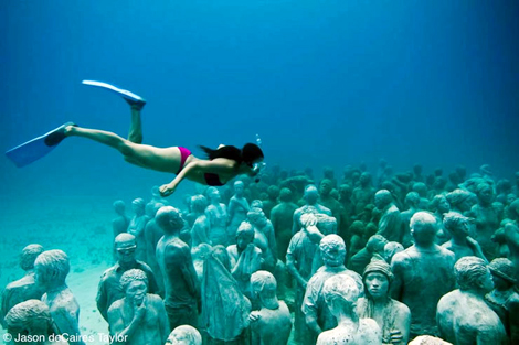underwater coral photography  ... underwater museum , but