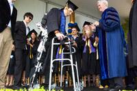 Berkeley Engineers Help Student Walk