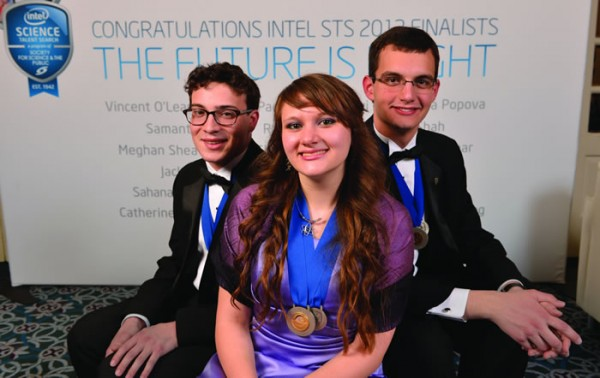2013 Intel Science Talent Search finalists at White House