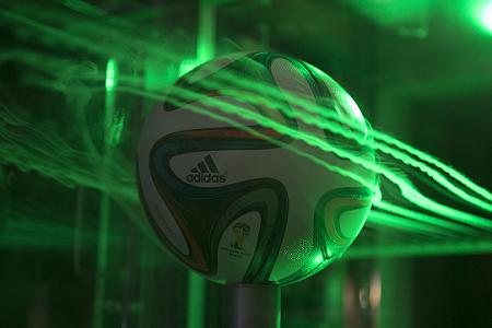 NASA tests Brazuca soccer ball